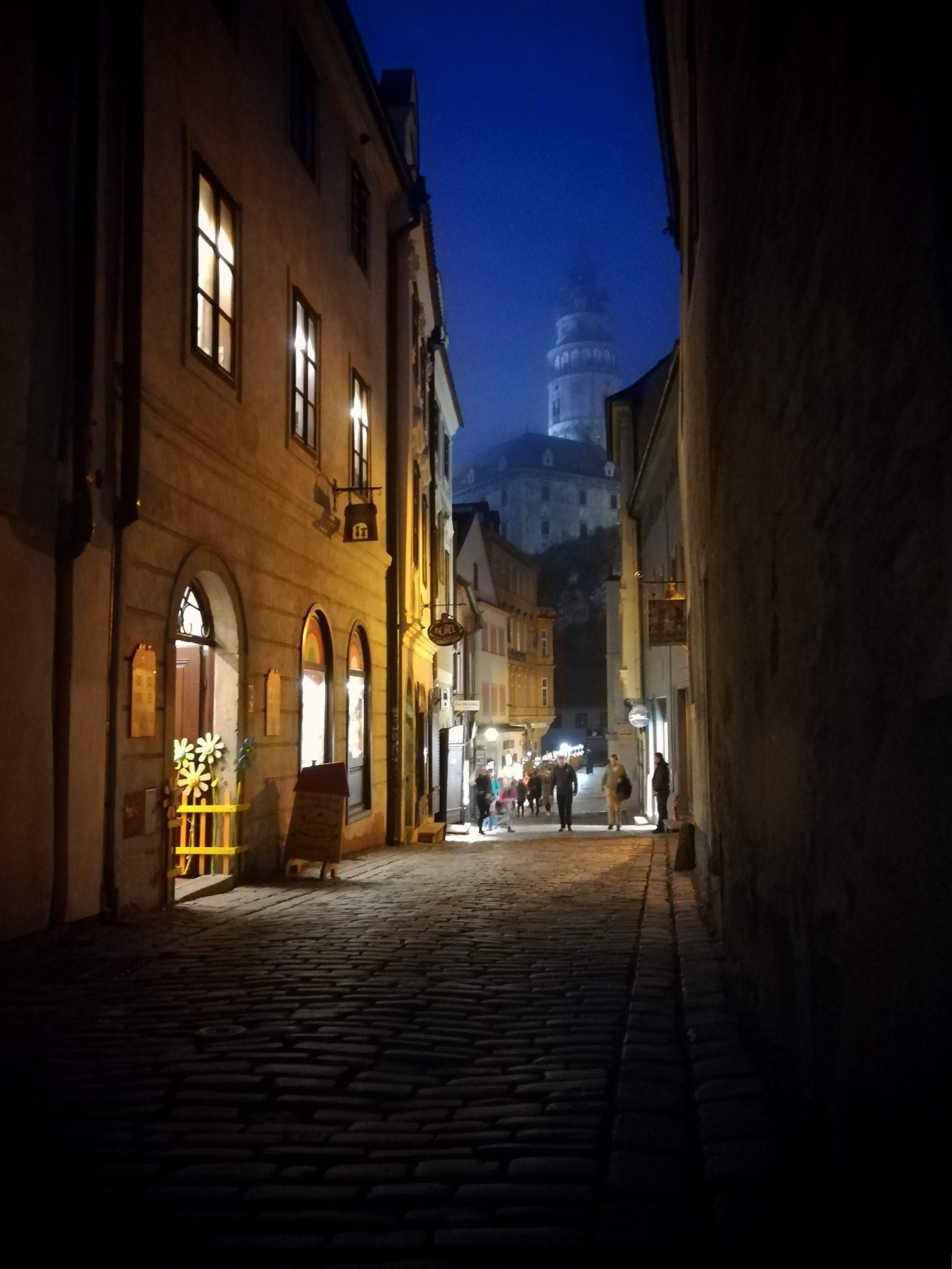 Radniční ulice Český Krumlov